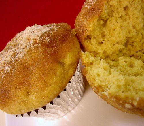 Cinnamon Sugar Doughnut Muffins. I guess I just use my gluten free ...