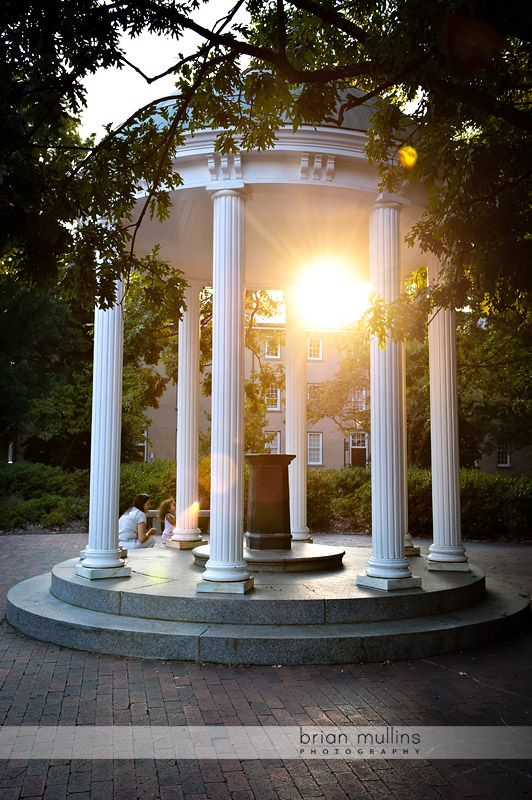 The Old Well at sunset