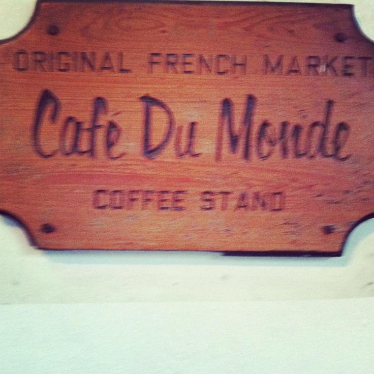 Cafe du Monde nola | Cafe | Pinterest