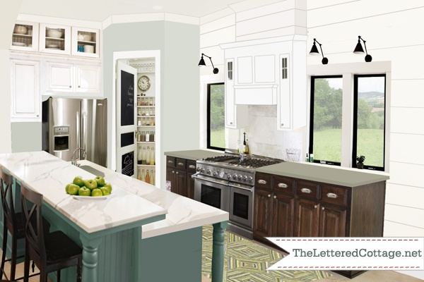 Kitchen Dark Base Cabinets White Upper Cabinets – Quicua.com
