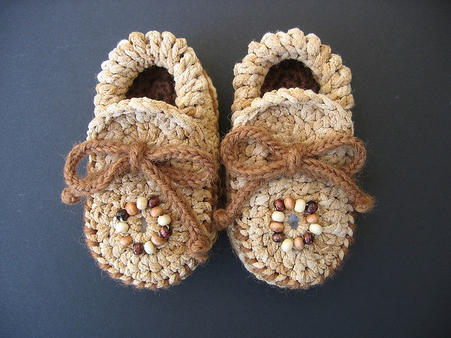Baby Booties Free Crochet Pattern Moccasins : Crochet Baby Moccasin Booties Crochet Pinterest
