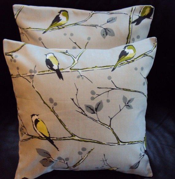 Throw Pillows Bird Design : Bird design throw pillow Interior Decorating Pinterest