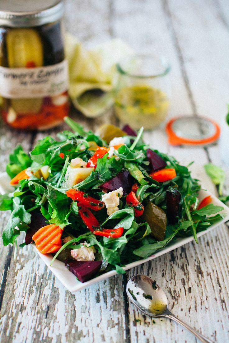 Summer Herb Salad | Sensational Salads | Pinterest