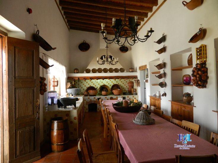 Cocina de hacienda en tlaxcala haciendas mexicanas for Cocinas rusticas mexicanas