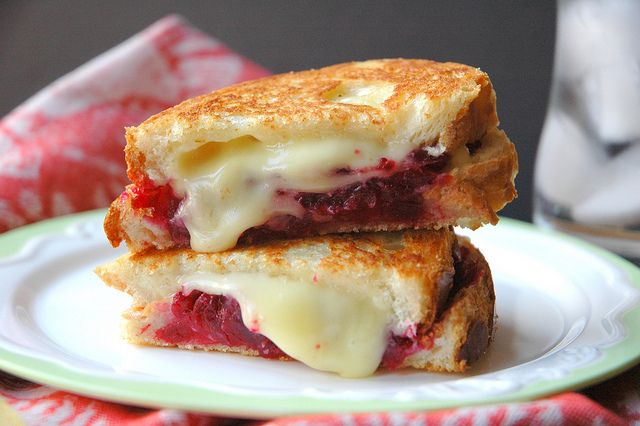 Cranberry Brie Grilled Cheese - Grilled cheese...they're so easy and ...