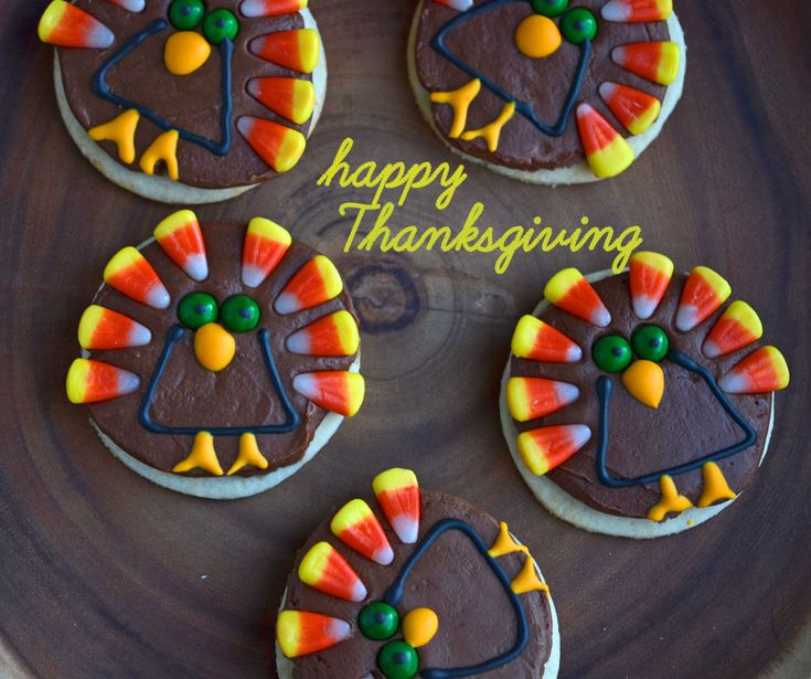Gluten-free Thanksgiving turkey cookies | Gluten Free Thanksgiving ...