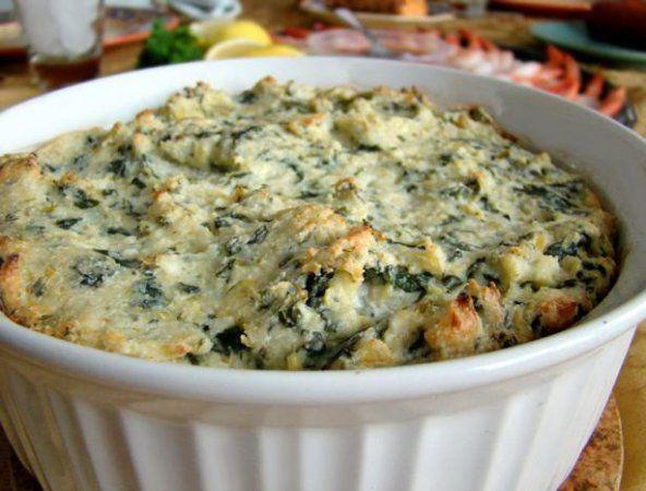 Spinach Artichoke Dip at Kitchenmonki.com