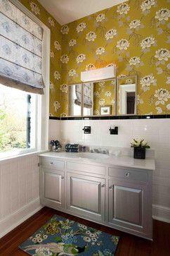 Eclectic bathroom dc metro heather odonovan interior design