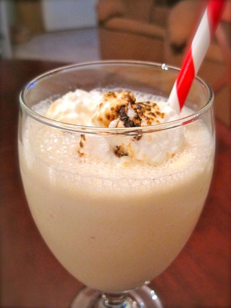 Toasted Marshmallow Milkshake | Food!! | Pinterest