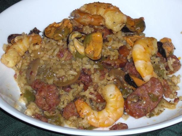 Dirty Rice With Sausage and Shrimp | Recipe