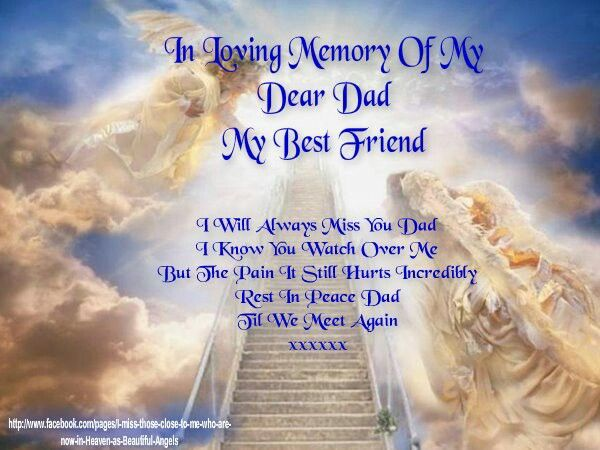 father's day in heaven photos