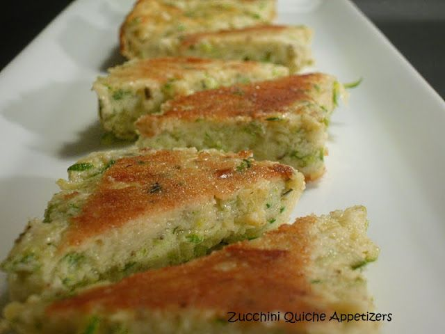 Zucchini Quiche Bites | South Beach Diet Recipes | Pinterest