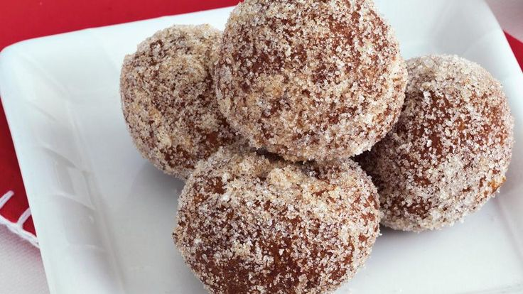 Gingerbread Doughnut Holes | Recipe