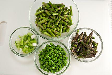 Spring Green Vegetable Sauté   Food for the Soul   Pinterest