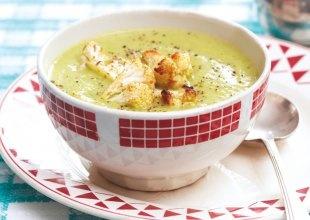 Cauliflower and Arugula Soup   FOOOOD   Pinterest