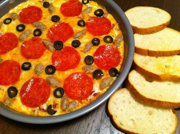 hot pizza dip | food | Pinterest