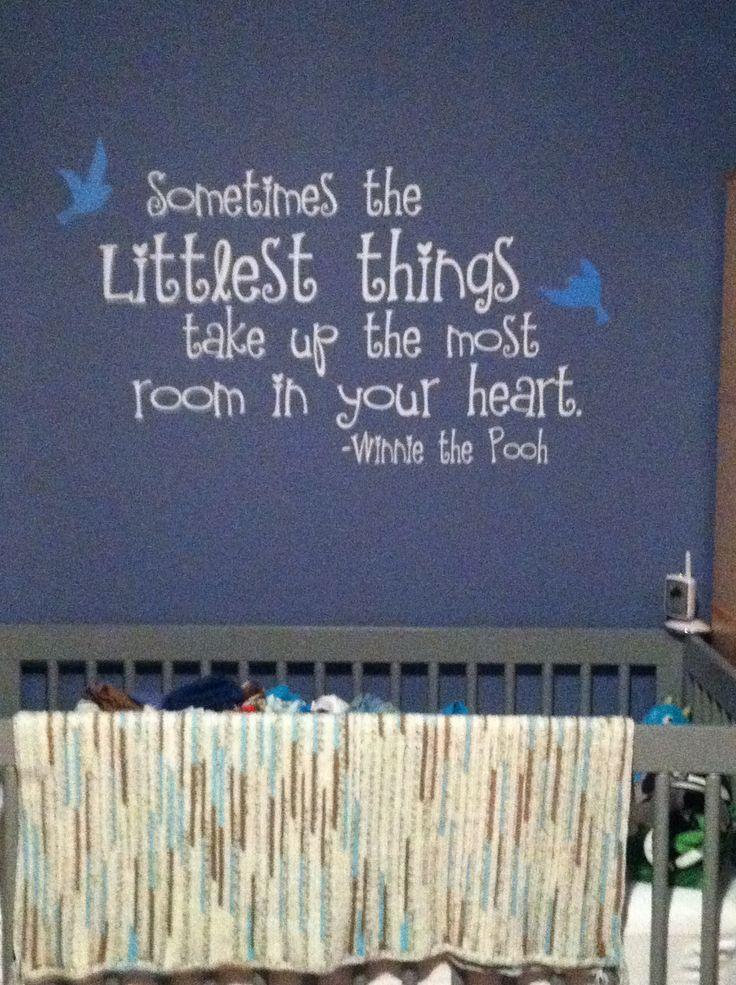 Baby Boy Nursery Quotation