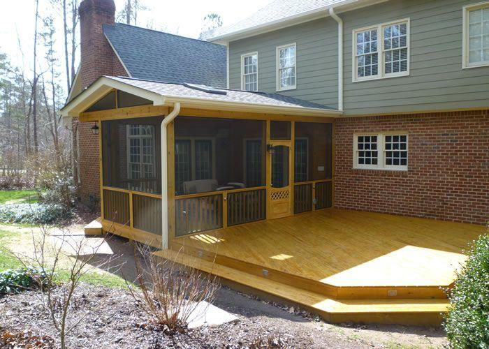 Sunroom Patio Screened In Porch Deck Porches Pinterest