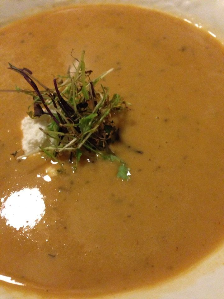 Bacon, Parmesan and White Bean Soup with Fresh Goat Cheese and ...