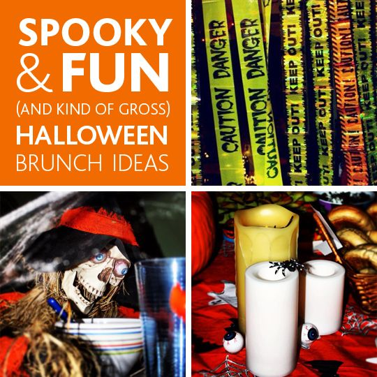Fun & Creepy Food Ideas for a Halloween Party