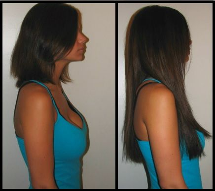 Hair Tape Extensions Before And After 116