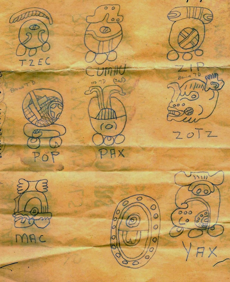 Mayan Writing