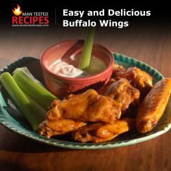 Easy and Delicious Buffalo Wings | Recipes | Pinterest