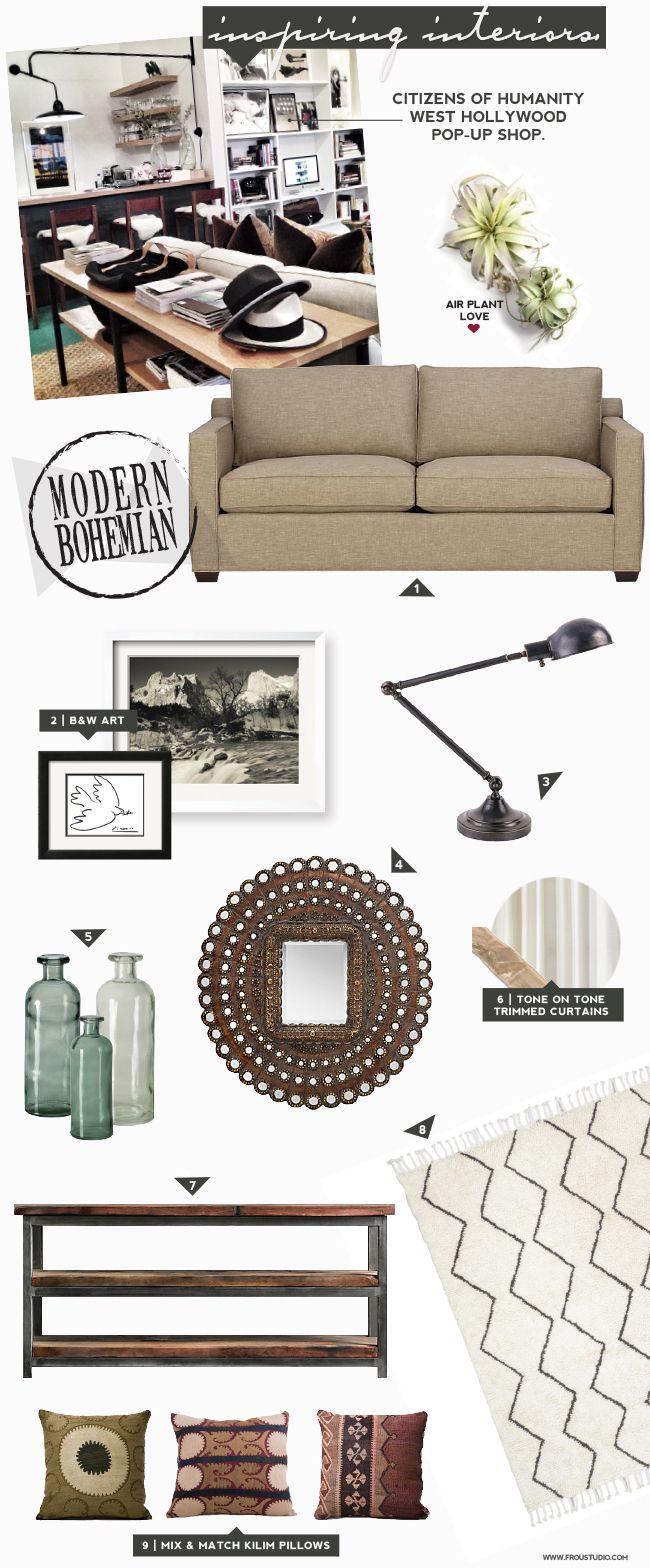 Modern boho living room inspo living rooms pinterest for Living room inspo