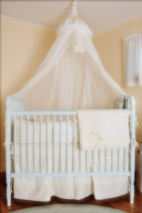Crib canopy bed canopy dosel pinterest for Canopy above crib
