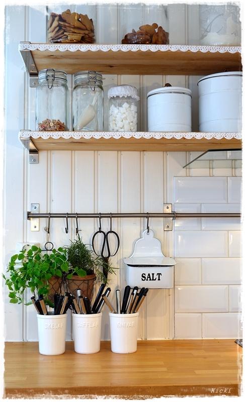 Botes estantes cosas de cocina pinterest - Estantes de cocina ...