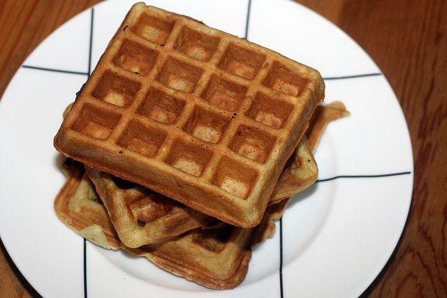 sour cream waffles by kae71463, via Flickr