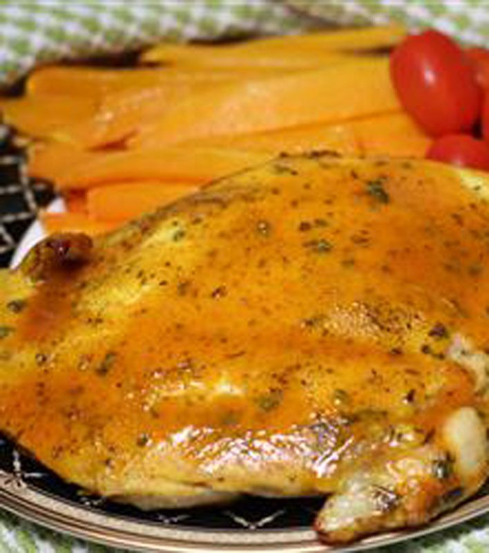 Baked Honey Mustard Chicken | Dinner Is Served | Pinterest