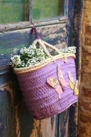 Sweet Purple Basket