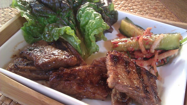 Kalbi - Korean BBQ beef short ribs | Kūlia Cooks | Pinterest