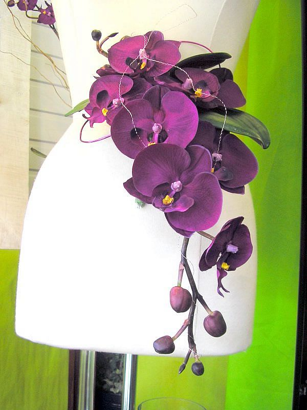Orchid Wedding Boquet