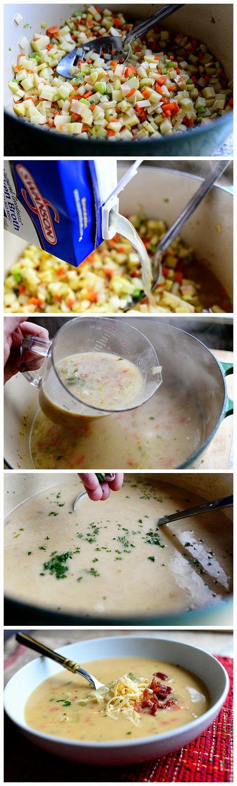 Perfect Potato Soup   Yummies   Pinterest