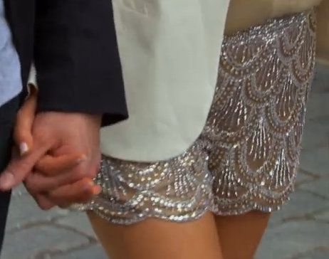In love with Emily Maynards Beaded shorts! NEED to find them!