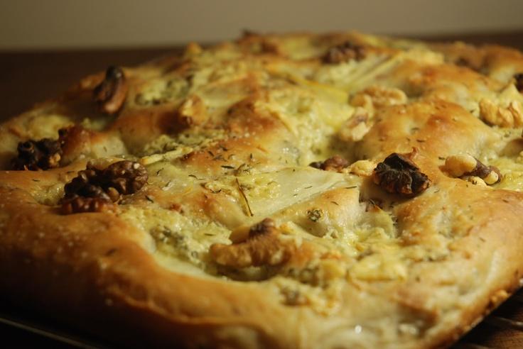 Breaking Bread: Potato, Blue Cheese & Walnut Focaccia | Vintage ...