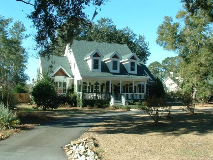 Southern Style Homes Dream Homes Pinterest