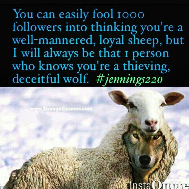Sheep In Wolf S Clothing Quotes