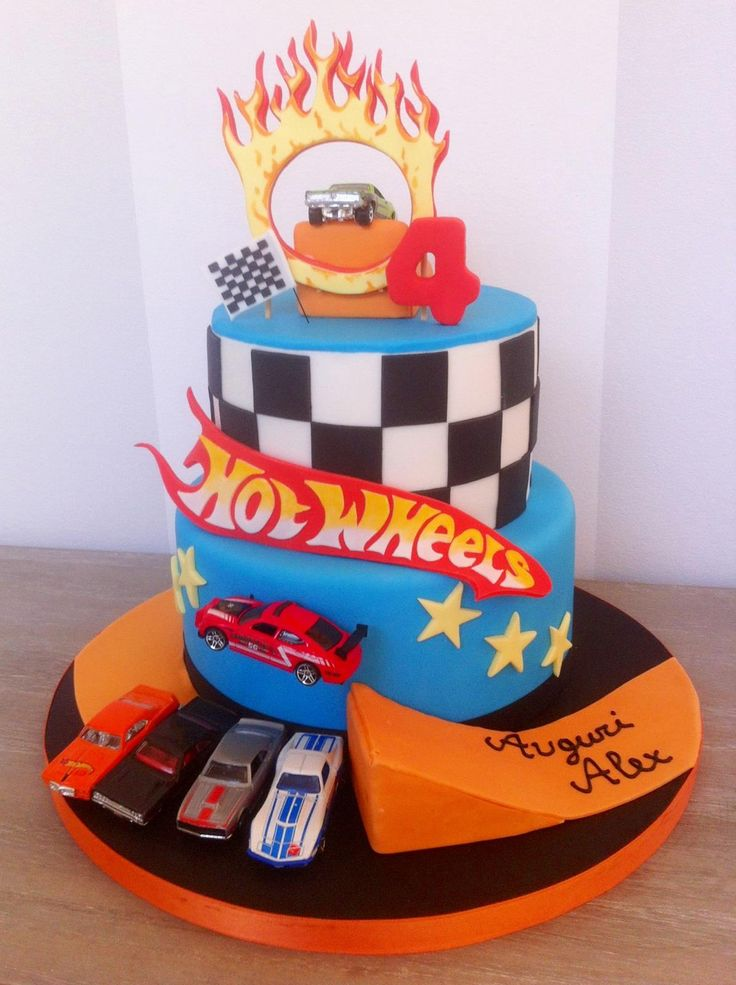 Images Of Hot Wheels Cake : Hot Wheels Cake Ideas Pinterest