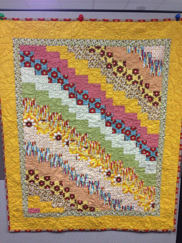 Quick quarter quilt in moda boho chic colorful quilts - Moda boho chic ...