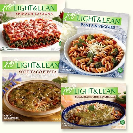 Amy S Light Amp Lean Frozen Foods 3 Healthy Foods