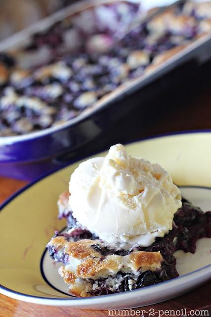 Blueberry Cobbler Vanilla Ice Cream, nam nam