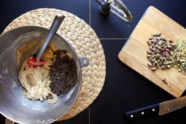 dark chocolate, pistachio & sea salt by joy the baker, via Flickr