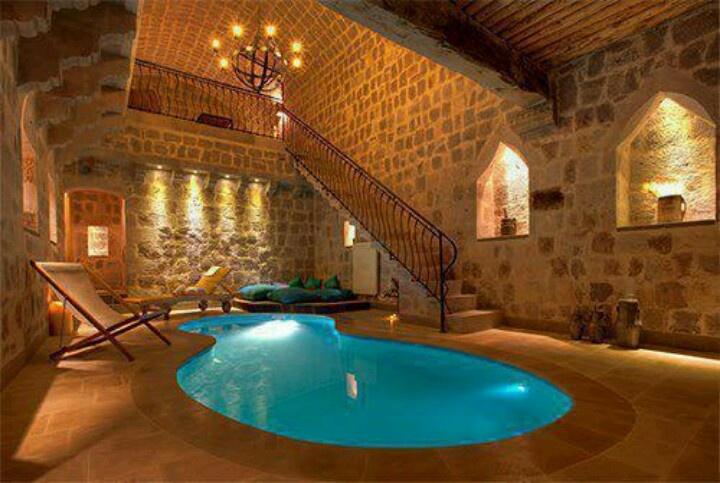 basement pool home pinterest