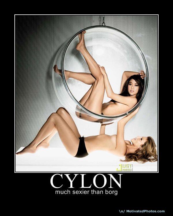 CYLON - much sexier than borg