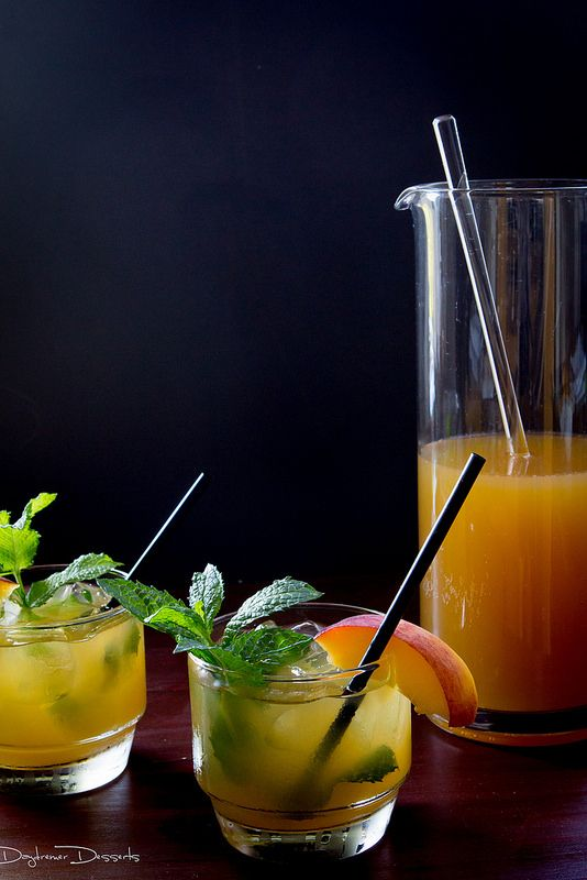 Peach Mint Julep | blog cocktails | Pinterest