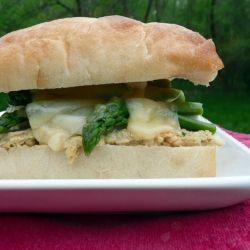 Salmon Salad Sandwiches On Ciabatta Recipes — Dishmaps