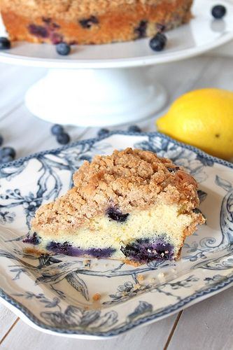 Blueberry Crumble Coffee Cake | holy guacomole :P | Pinterest